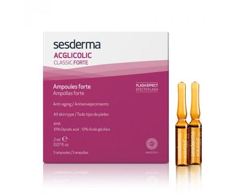 ACGLICOLIC CLASSIC FORTE Ampoules – Средство в ампулах форте с гликолевой кислотой, 5 шт по 2 мл