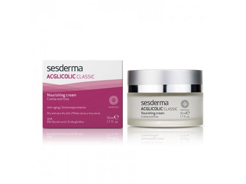 ACGLICOLIC CLASSIC Nourishing cream – Крем питательный с гликолевой кислотой, 50 мл  Применение