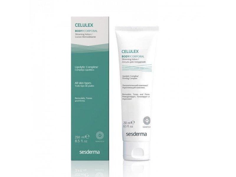 CELULEX BODY Slimming lotion – Лосьон ремоделирующий для похудения, 250 мл  Применение