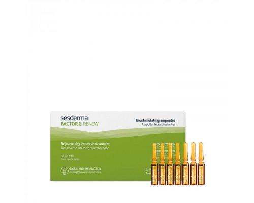 FACTOR G RENEW Biostimulating ampoules – Средство в ампулах биостимулирующее, 7 шт. по 2 мл
