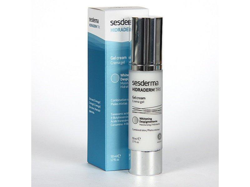 HIDRADERM TRX Gel cream – Крем-гель увлажняющий для лица, 50 мл  Применение