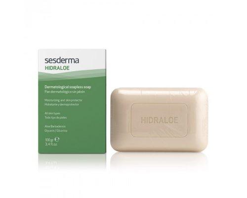 HIDRALOE Dermatological soapless soap – Мыло твердое дерматологическое, 100 г