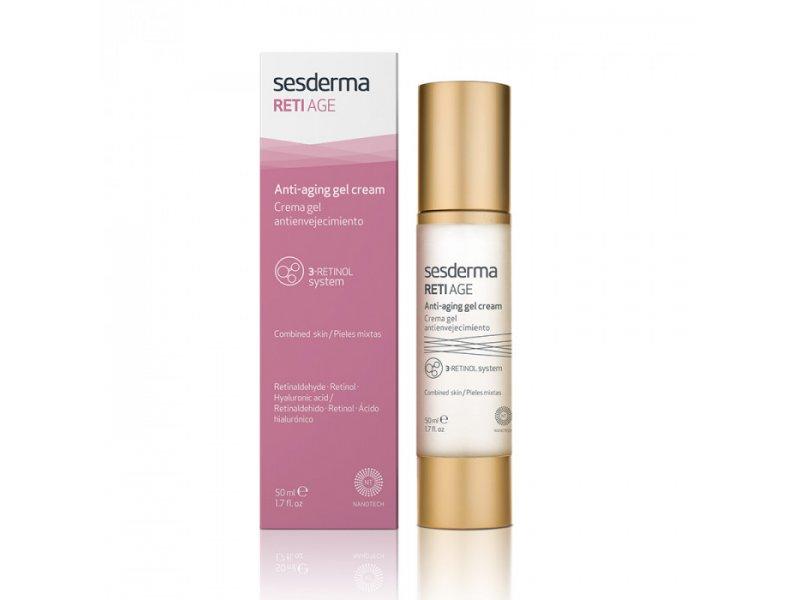Sesderma RETI AGE Anti-aging gel-cream Крем-гель для лица антивозрастной