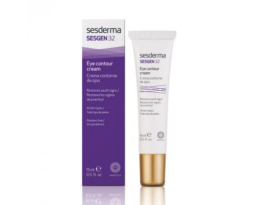 SESGEN 32 Eye contour cream – Крем-контур для зоны вокруг глаз «Клеточный активатор», 15 мл