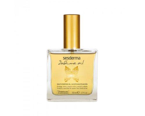 Масло для лица, тела и волос питательное и восстанавливающее Sesderma SUBLIME OIL Multi-purpose oil 50 мл