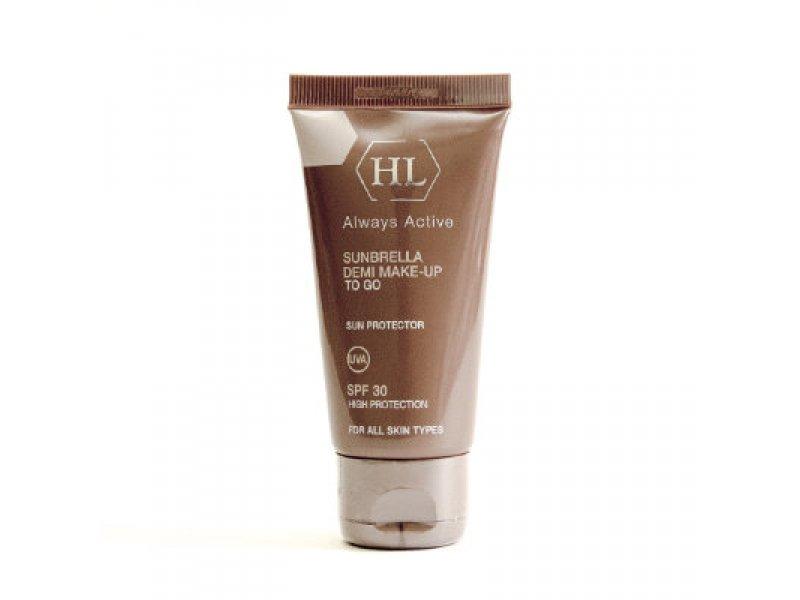 Солнцезащитный крем с тоном SUNBRELLA SPF30 Demi Make-Up 125мл  Применение