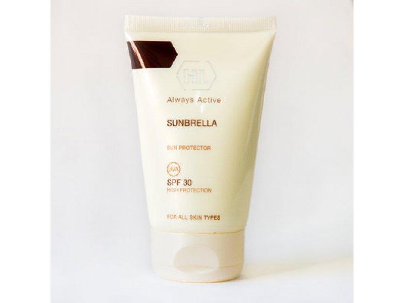 Солнцезащитный крем для кожи лица и тела SUNBRELLA SPF30 125 мл  Применение