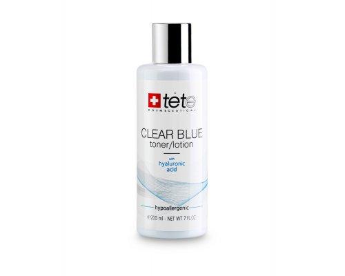 Тоник-лосьон с гиалуроновой кислотой TETe CLEAR BLUE Toner-Lotion, 200 мл