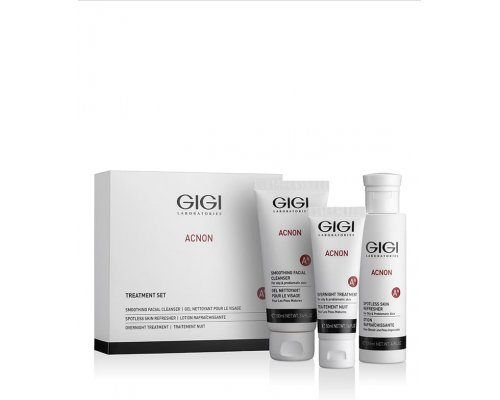 Gigi Set - Набор Чистая кожа (мыло, ночной крем, эссенция)