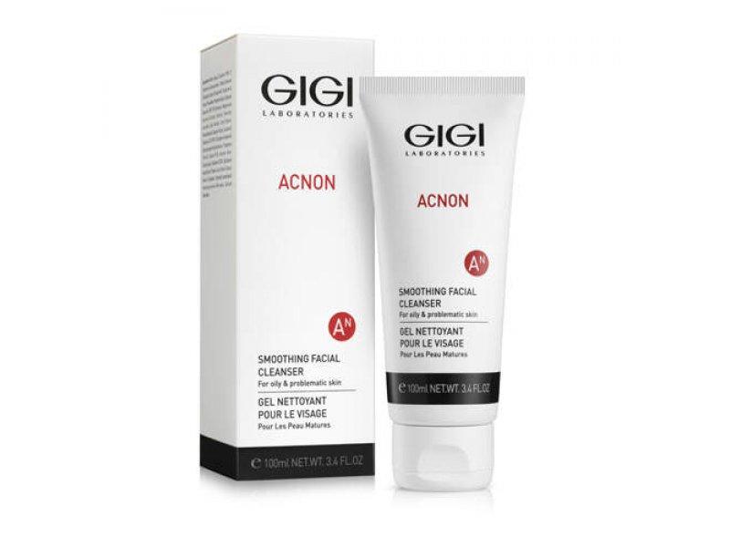Мыло для глубокого очищения Gigi Smoothing facial cleanser 100 мл  Применение