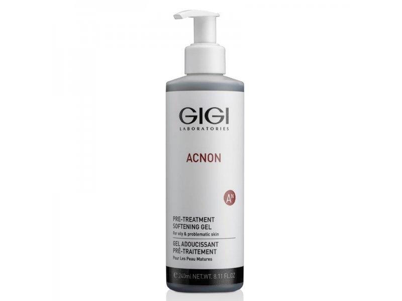 Гель размягчающий для лица Gigi Pre-treatment softening gel 240 мл  Применение