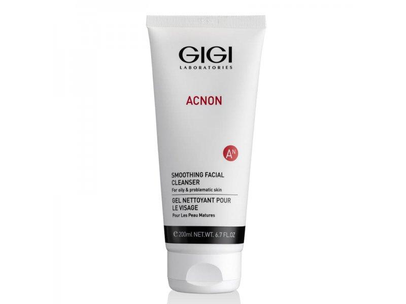 Мыло для глубокого очищения Gigi Smoothing facial cleanser 200 мл  Применение