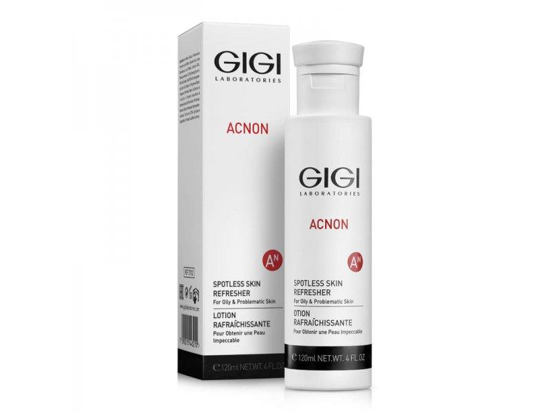 Gigi Spotless skin refresher - Эссенция-Тоник противосполительный, выравнивающий, 120мл  Применение