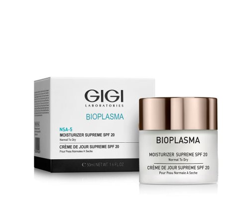 Gigi Bioplasma NSA-5 Moisturizer Supreme SPF 20 - Крем увлажняющий для сухой кожи, 50 мл