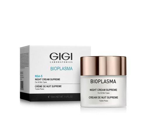 Gigi Bioplasma NSA-5 Night Cream Supreme - Крем ночной, 50 мл.