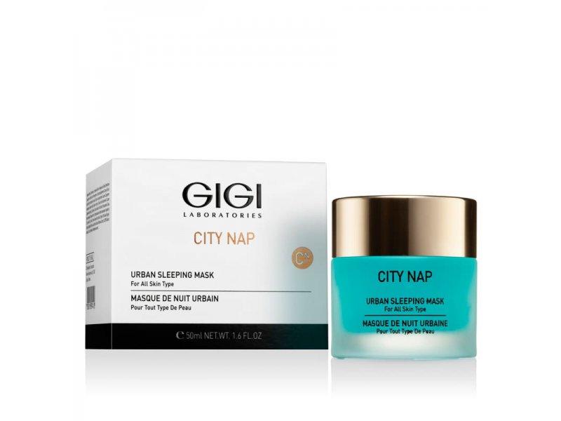 Маска «Спящая Красавица» Gigi City NAP Urban Sleepeng Mask 50 мл  Применение
