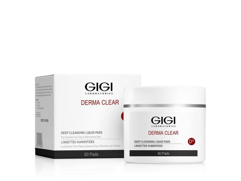 Диски очищающие Gigi DERMA CLEAR Deep Cleansing Liquid Pads 60 шт  Применение