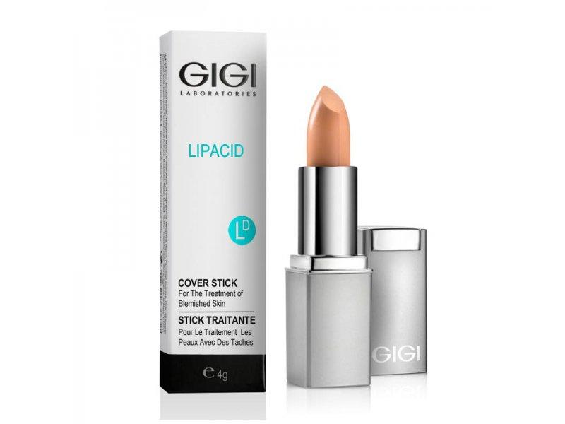 Gigi LIPACID Cover Stick - Крем-карандаш тональный, 4 гр  Применение
