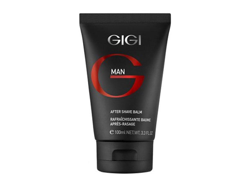 Gigi MAN After Shave Balm - Легкий увлажняющий крем после бритья, 100мл  Применение