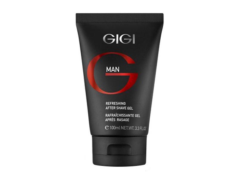Gigi MAN Refreshing After Shave Gel - Освежающий гель после бритья, 100 мл.  Применение