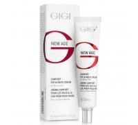 Насыщенный питательный крем для век и шеи Gigi NEW AGE Comfort Eye & Neck Cream 50 мл