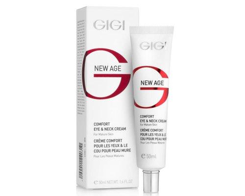 Gigi NEW AGE Comfort Eye & Neck Cream - Насыщенный питательный крем для век и шеи, 50 мл