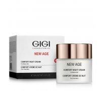 Gigi NEW AGE Comfort Night Cream - Регенерирующий крем ночной, 50 мл