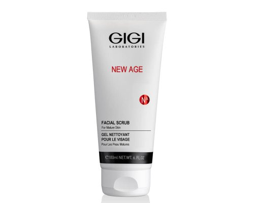 Gigi NEW AGE Facial Scrub - Кремообразный скраб, 180 мл