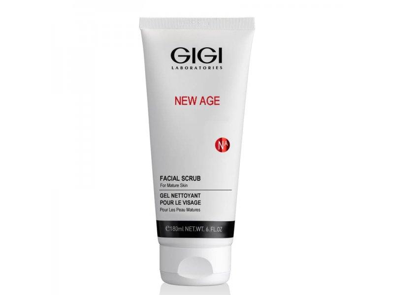Скраб коралловый деликатный Gigi NEW AGE Facial Scrub 180 мл  Применение