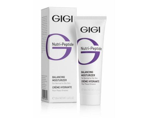 Gigi NUTRI-PEPTIDE Balancing Moisturizer - Балансирующий крем для жирной кожи, 50мл