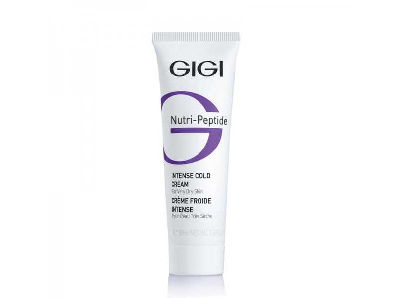 Gigi NUTRI-PEPTIDE Intense Cold Cream - Крем питательный для всех типов кожи, 50 мл  Применение