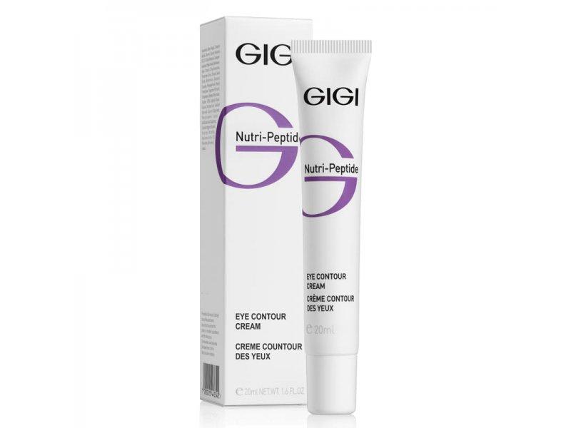 Пептидный контурный крем для век Gigi NUTRI-PEPTIDE Eye Contour Cream 20 мл  Применение