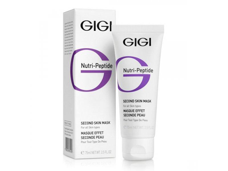 Маска-пилинг Вторая Кожа Gigi NUTRI-PEPTIDE Second Skin Mask 75 мл  Применение