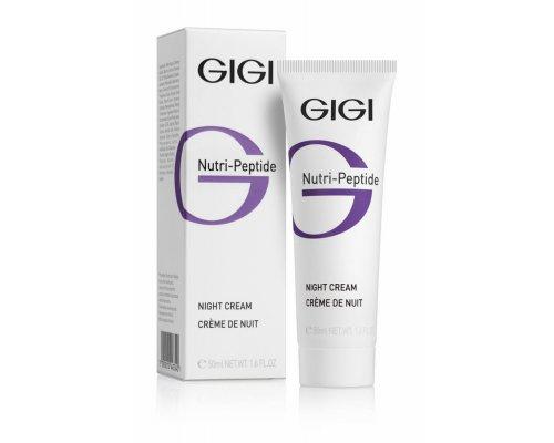Gigi NUTRI-PEPTIDE night Cream - Ночной крем, 50 мл