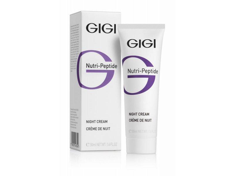 Gigi NUTRI-PEPTIDE night Cream - Ночной крем, 50 мл  Применение