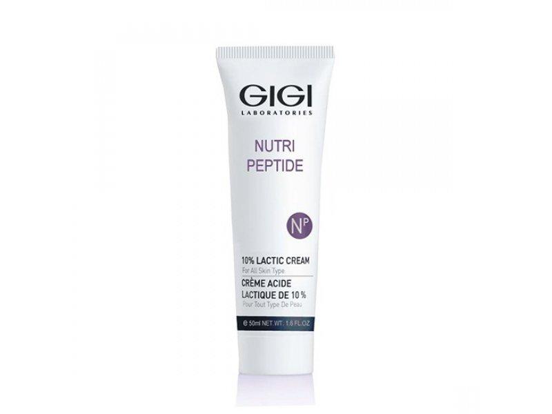 Gigi NUTRI-PEPTIDE 10% Lactic Cream - Крем с молочной кислотой, 50 мл