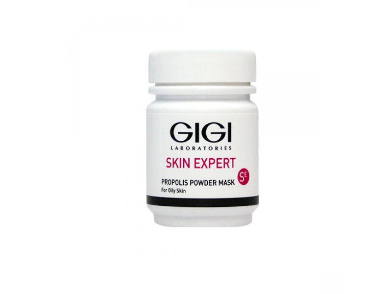 Gigi OUTSERIAL Propolis Powder Mask - Антисептическая прополисная пудра для жирной и проблемной кожи, 50 мл  Применение