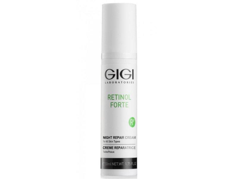 Gigi RETINOL FORTE night repair cream - крем ночной, 50 мл  Применение