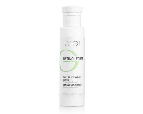 Лосьон-пилинг для ухода за сухой кожей лица Gigi RETINOL FORTE Daily Rejuvenation Lotion for normal to dry skin 120 мл