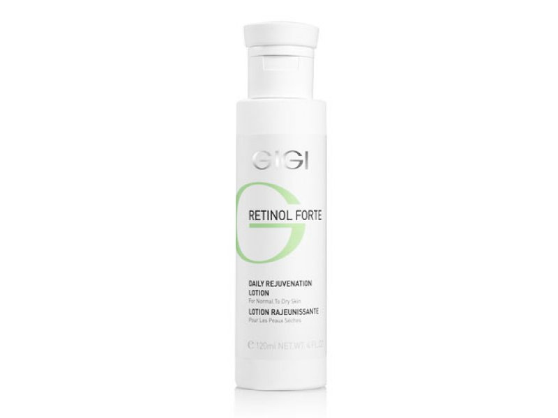 Лосьон-пилинг для ухода за сухой кожей лица Gigi RETINOL FORTE Daily Rejuvenation Lotion for normal to dry skin 120 мл  Применение
