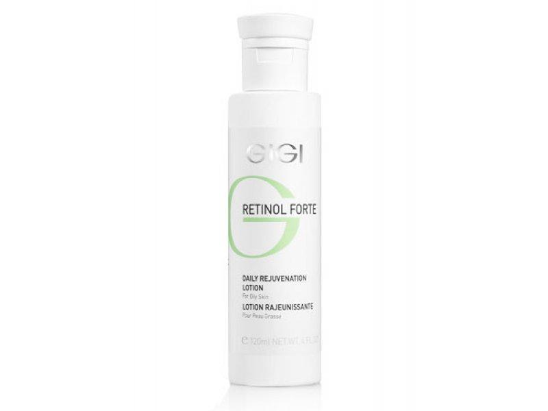 Gigi RETINOL FORTE Daily Rejuvenation Lotion for oily skin - Лосьон-пилинг для комбинированной и жирной кожи, 120 мл