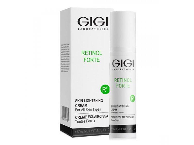 Gigi RETINOL FORTE Skin Lightening Cream - Отбеливающий крем для всех типов кожи, 50 мл  Применение
