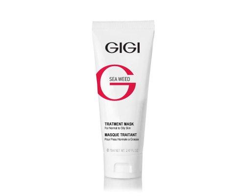 Gigi Sea Weed Treatment Mask - Лечебная маска для смешанной, жирной чувствительной и кожи, 75 мл