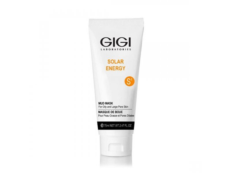 Gigi SOLAR ENERGY Mud Mask - Грязевая маска для жирной и проблемной кожи, 100 мл  Применение