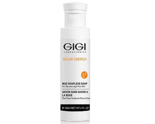 Gigi SOLAR ENERGY Mud Soapless Soap - мыло жидкое, 120 мл