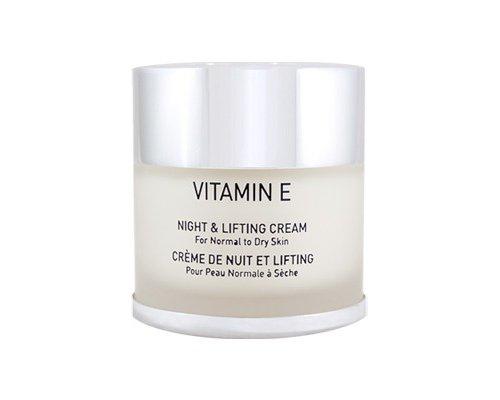 Gigi VITAMIN Е Night & Lifting Cream -  Ночной лифтинговый крем, 50 мл.