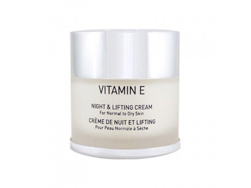 Gigi VITAMIN Е Night & Lifting Cream -  Ночной лифтинговый крем для сухой и нормальной кожи, 50 мл.  Применение