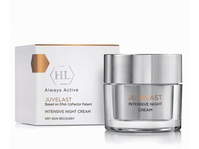 Интенсивный ночной крем JUVELAST Intensive Night Cream 50 мл  Применение