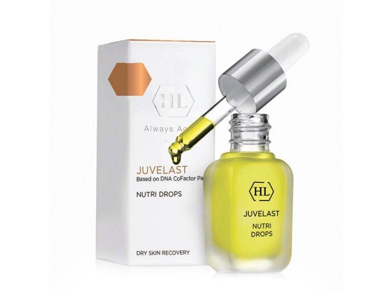 Масляный концентрат для кожи лица JUVELAST Nutri Drops 15 мл  Применение