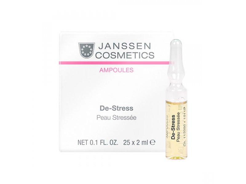Janssen Концентрат, снимающий раздражение, для чувствительной кожи De-Stress  Применение